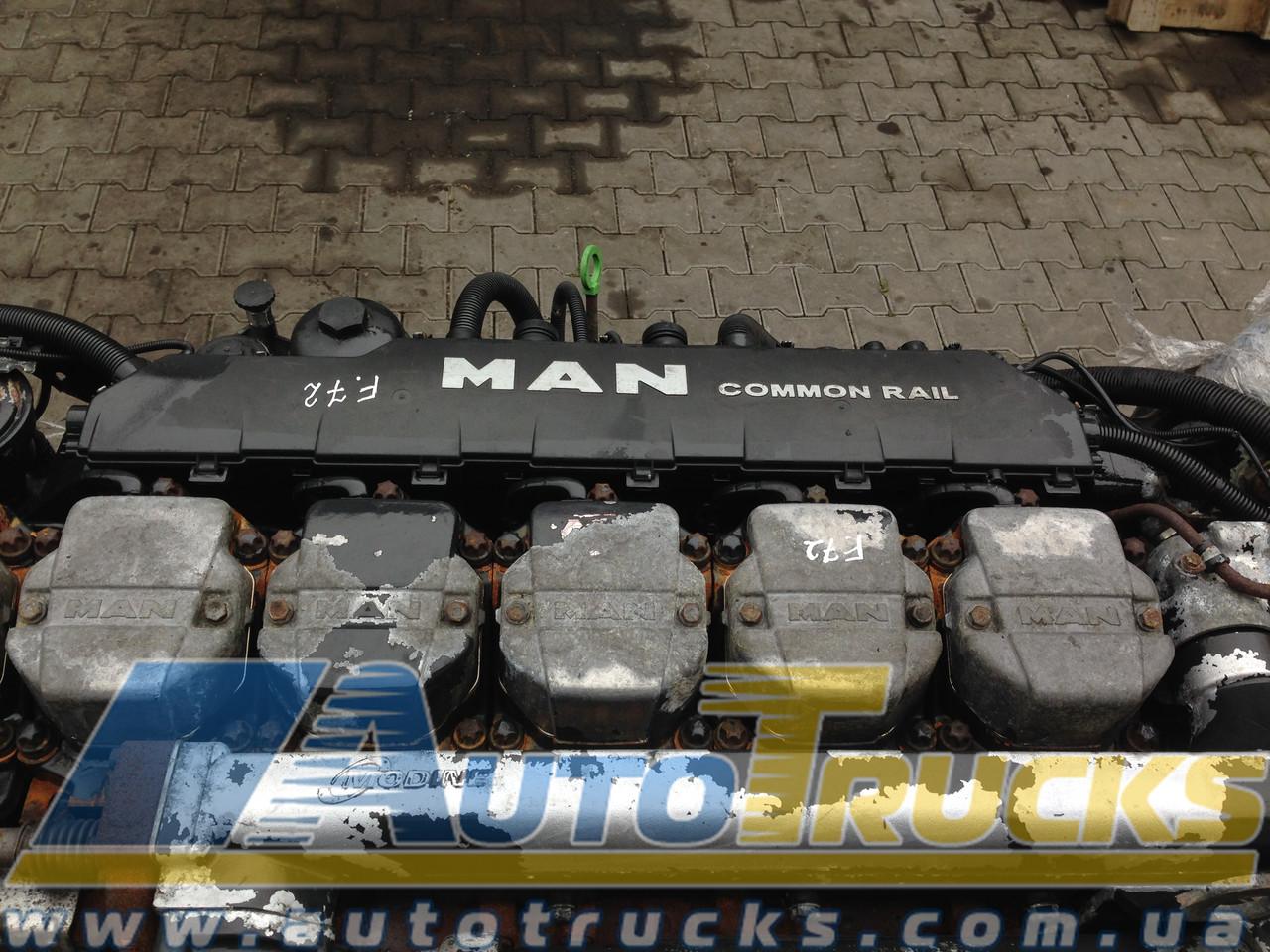 Двигатель D2876 LF12/13/25 Б/у для MAN TGA