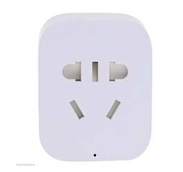 Розетка смарт умная Xiaomi Mi Smart Power Plug 2 wifi + переходники Мира (Белый)