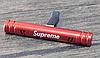 Ароматизатор VIP серія на повітропровід SUPREME, освіжувач повітря салону автомобіля червоний, фото 2