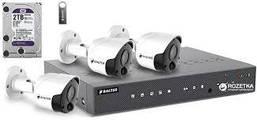 Комплект видеонаблюдения BALTER KIT 5MP 3bullet (3 шт наружных видеокамер)