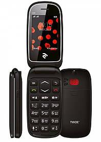 Мобильный телефон 2E E181 DS Black Гарантия 12 месяцев