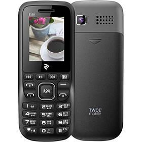 Мобильный телефон 2E E180 DS Black/Grey Гарантия 12 месяцев