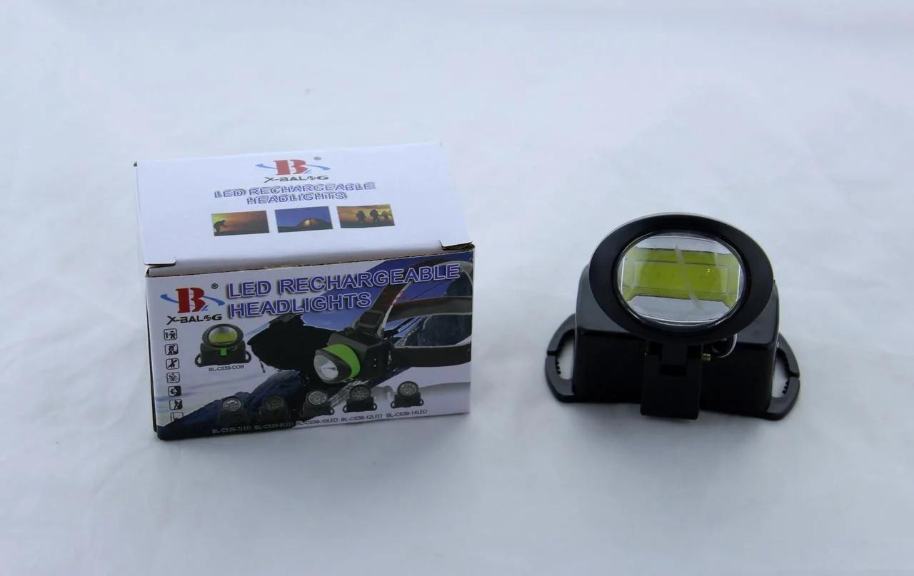 Налобный фонарь BL 539 C COB аккумуляторный