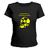 Летняя стильная футболка для девушек с рисунком череп Immortal Generation