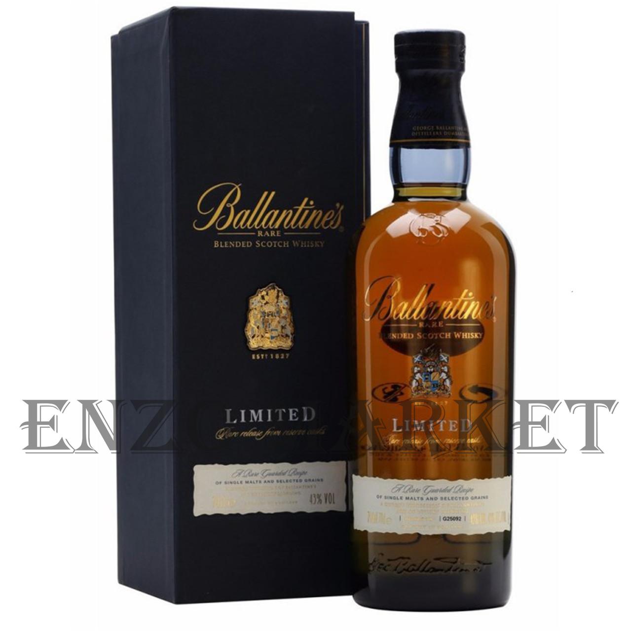Виски Ballantines Limited (Баллантайнс Лимитед) 40%, 0,75 литр