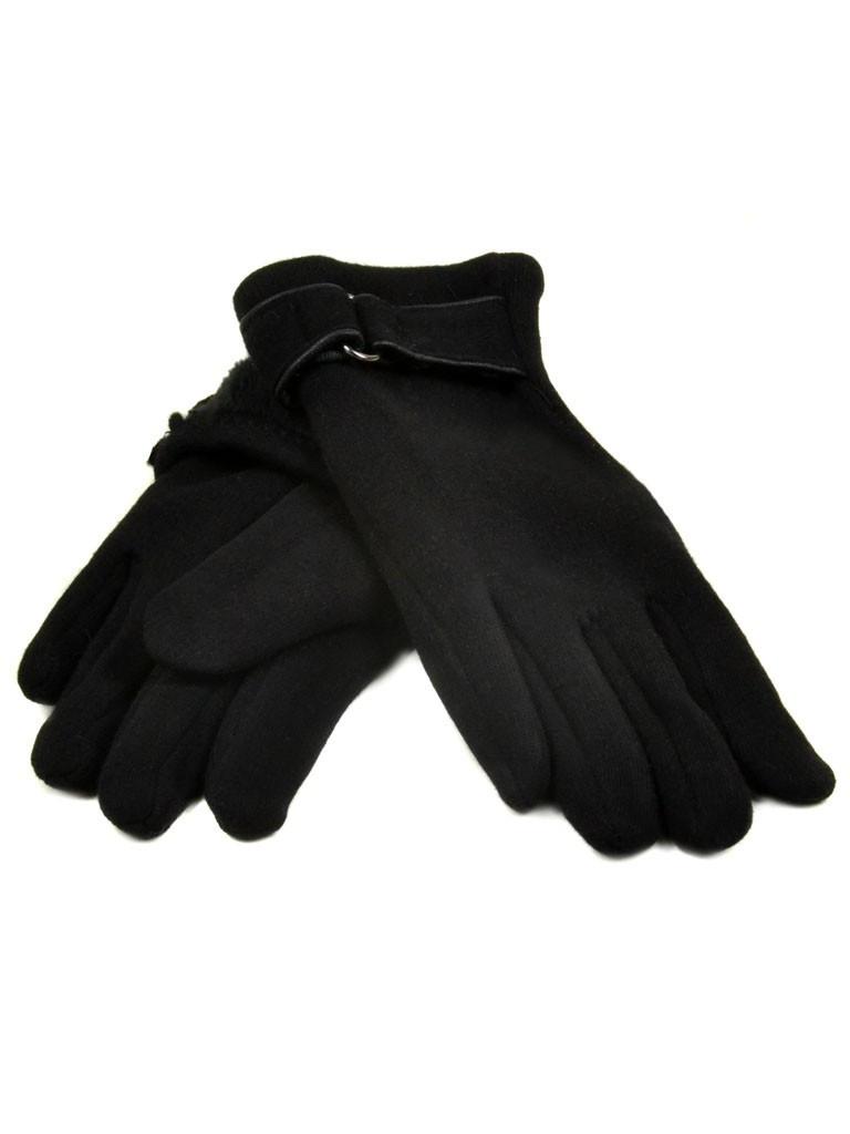 Перчатка Подростковая стрейч D2 ПЛ мод-1 black (мальчик) Распродажа