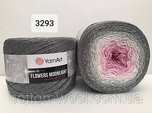 Yarnart Flowers Moonligth (Фловерс Мунлайт) 53% - бавовна, 43% - поліакріл, 4% - люкерм 3293