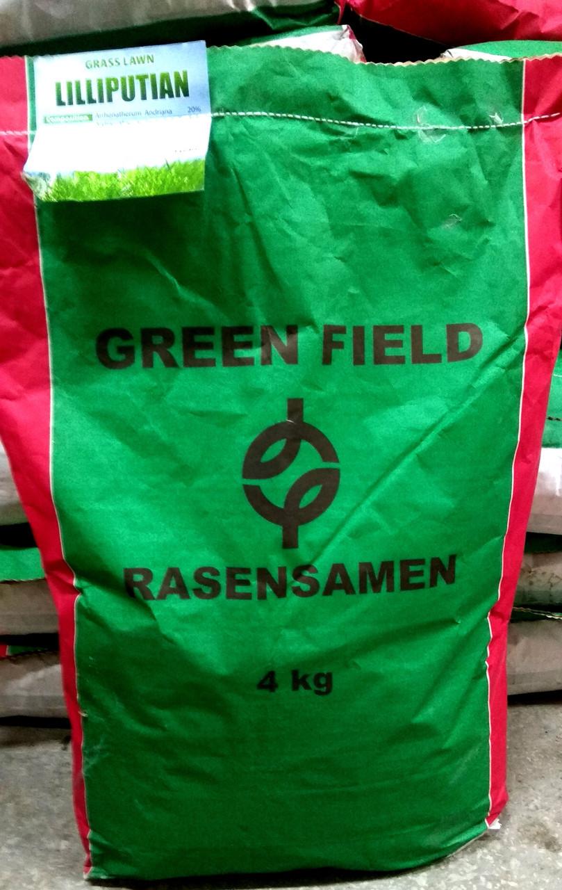 Газонная трава Лилипут 4кг ТМ Green Field RasenSamen
