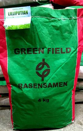 Газонная трава Лилипут 4кг ТМ Green Field RasenSamen, фото 2