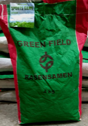 Газонная трава Спортивная 4кг ТМ Green Field RasenSamen, фото 2