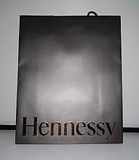 Новые бумажные пакеты подарочные Hennessy 31*25см, фото 3