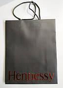 Новые бумажные пакеты подарочные Hennessy 31*25см