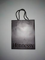 Новые бумажные пакеты подарочные Hennessy 20*16см