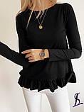 Жіноча Кофточка чорний, сірий, бежевий, фото 6
