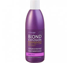Відтіночний бальзам для волосся для нейтралізації жовтизни - Перлинний блонд Concept Blond Explosion