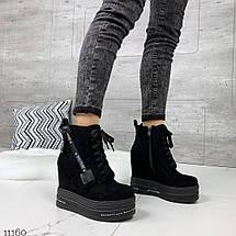 Замшевые ботинки женские, фото 2