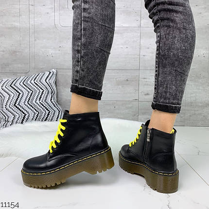 Грубые ботинки на каблуке, фото 2