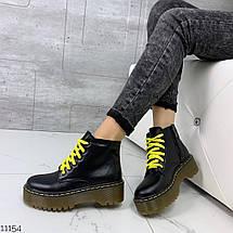 Грубые ботинки на каблуке, фото 3