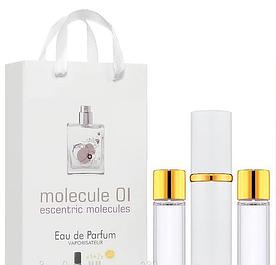 Унісекс міні парфум Escentric Molecules Molecule 01, 3*15 мл