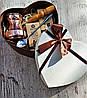 Кофе подарочный набор Кремовое сердце