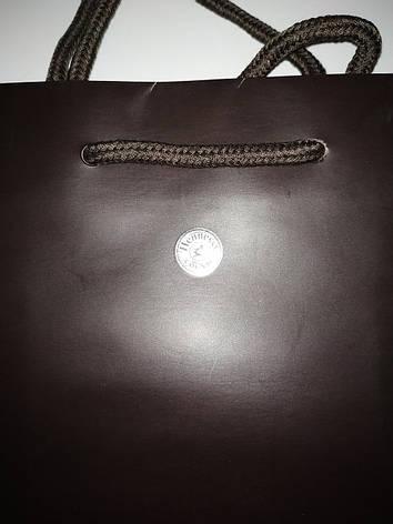 Новые бумажные пакеты подарочные Hennessy 21*29см, фото 2