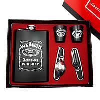 Набор фляга из нержавеющей стали Jack Daniels