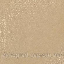 Лист односторонней бумаги с фольгированием Golden Mini Drops Kraft 30,5х30,5 см