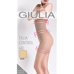 Корректирующие колготки женские GIULIA Talia control 40