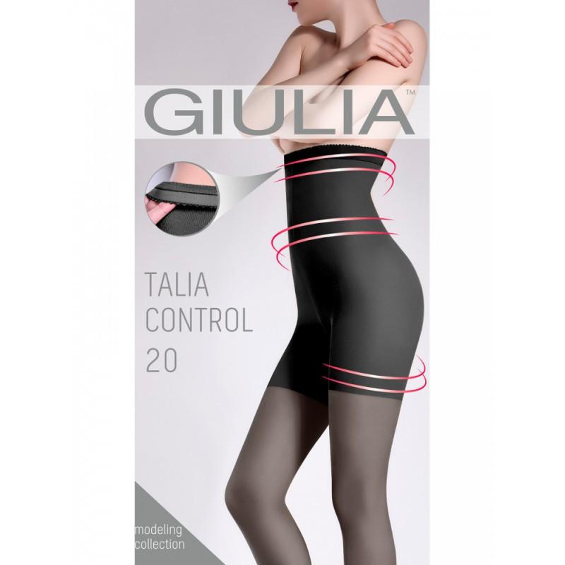 Корректирующие колготки с моделирующими шортиками GIULIA Talia control 20