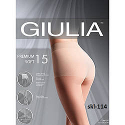Колготки женские прозрачные с шортиками PREMIUM SOFT 15 Giulia skl-114