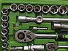✔️ Набор ключей, головок Al-Fa 108 шт . из хром-ванадиевой стали, фото 4