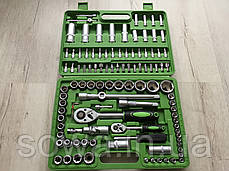 ✔️ Набор ключей, головок Al-Fa 108 шт . из хром-ванадиевой стали, фото 3