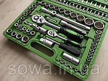 ✔️ Набор ключей, головок Al-Fa 108 шт . из хром-ванадиевой стали, фото 2