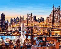Рисование по номерам Babylon Вечер в Нью-Йорке (VP1245) 40 х 50 см