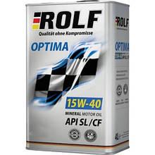 Масло ДВС 15W-40 ROLF Optima SN/CF, 1л, хв