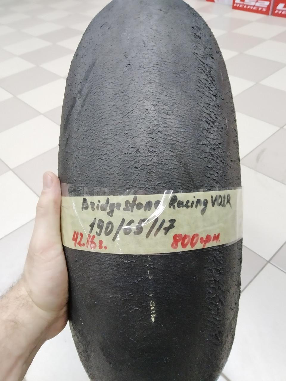 СЛІК Bridgestone Racing Battlax v01R 190 65 17 (4216) Моторезина мотошина