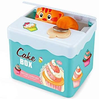 Копилка для монет Кот Cake Box