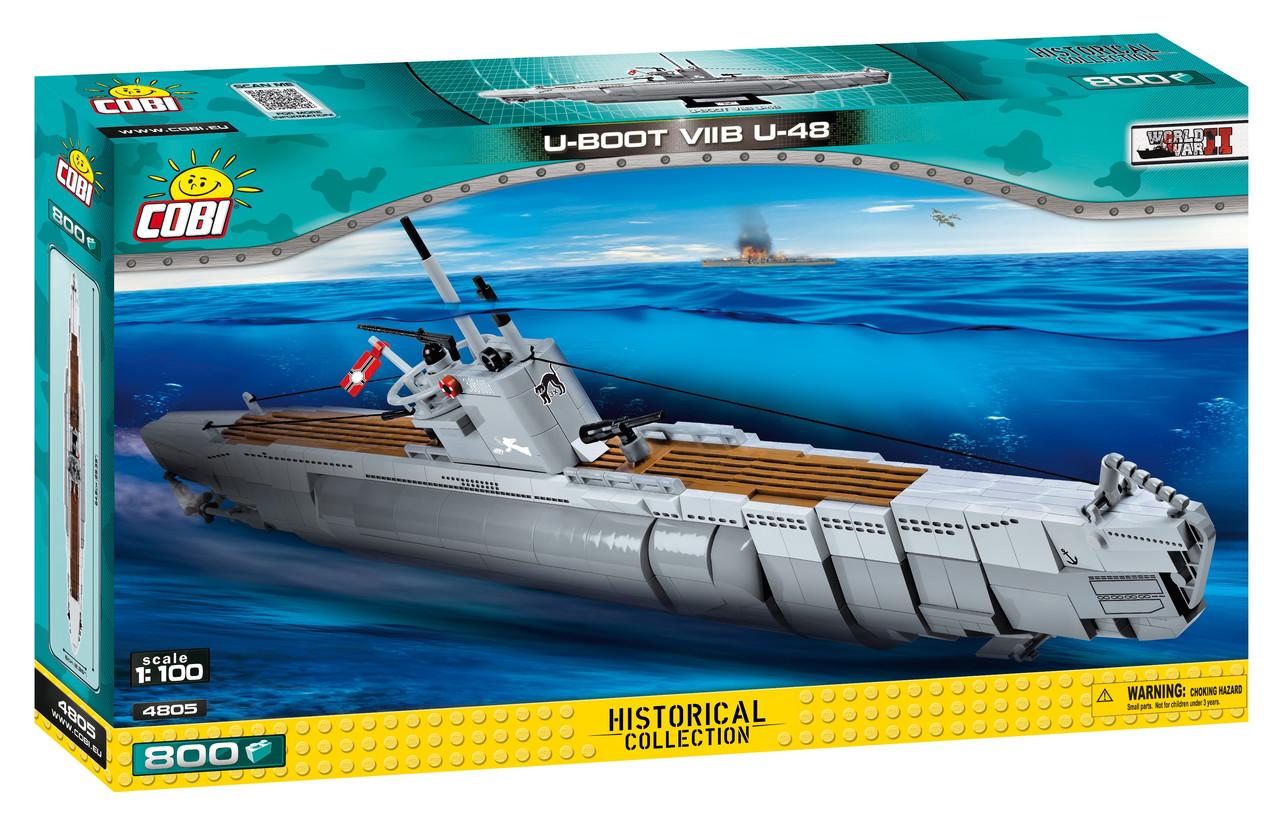 Конструктор Cobi Подводная лодка U-48 765 деталей (COBI-4805) (5902251048051)