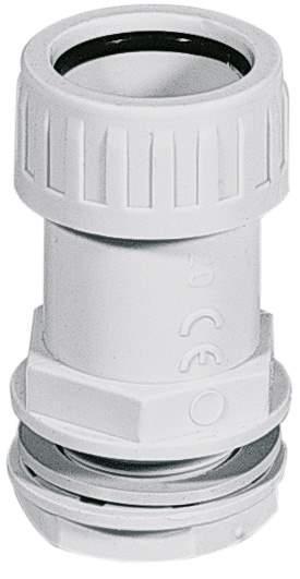 Муфта труба-коробка IP65 32мм Elettrocanali ECBS32 серая (соединитель жестких труб и коробок)