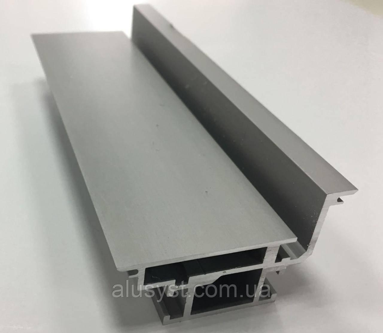 Алюминиевый профиль для дверей скрытого монтажа 6 пог.м.