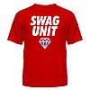 Популярная молодёжная футболка с нанесением Swag Unit
