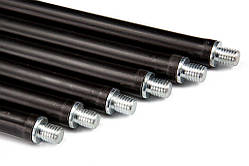 Набор гибких ручек палок для чистки дымохода Savent 1 м (6 шт.)