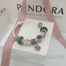 Браслет основа  Пандора Классическая серебро 925  стиль Pandora