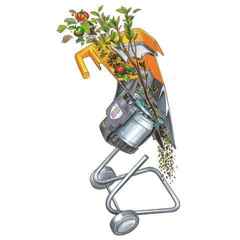 Комплектуючі для садових подрібнювачів