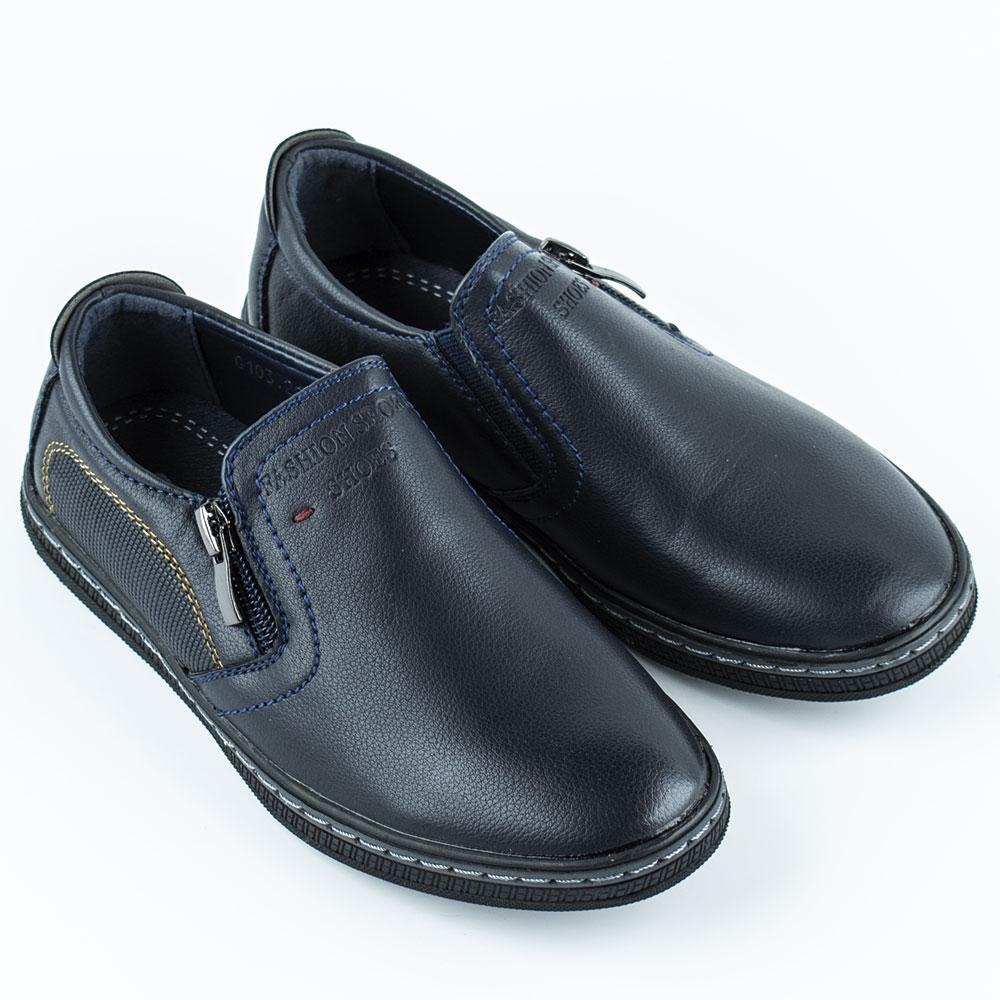 Туфли для мальчиков EeBb 27  синий 980482