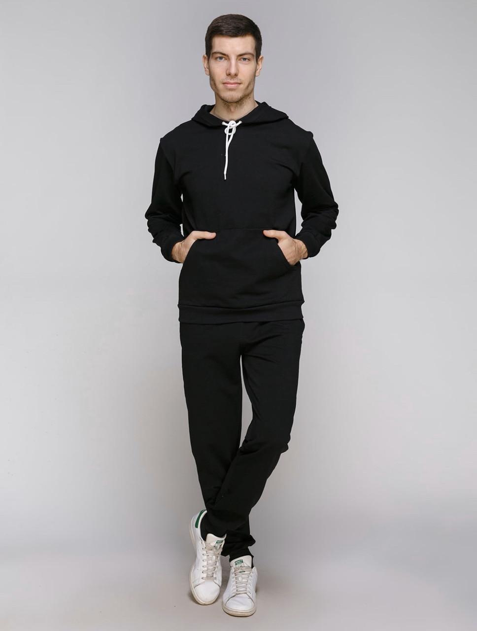 Спортивный костюм мужской, чёрный