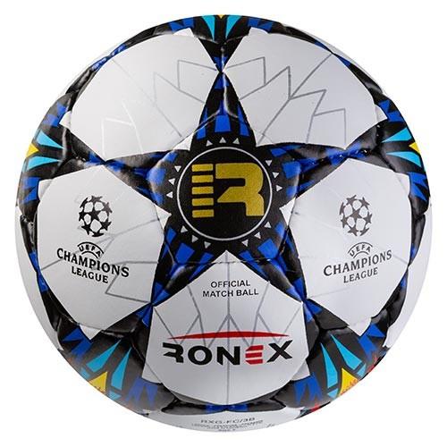 Мяч футбольный Grippy Ronex AD/FC3 сине/черный