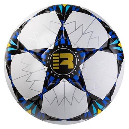 Мяч футбольный Grippy Ronex AD/FC3 сине/черный, фото 2