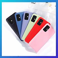 Samsung Galaxy A71 защитный чехол Candy\ захисний чохол