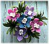 """Набор мыла """"Корзинка с орхидеями"""""""